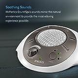 HoMedics White Noise Sound Machine | Portable Sleep