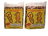 Pepitoria Sinaloense, Palanquetas de Cacahuate Mexicanas-Peanut Mexican Candy Bars, 20 Pieces 28.2 oz (Pack of 2)