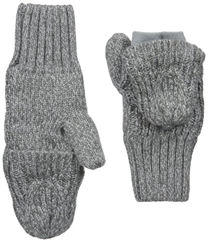- Under Armour Women's Around Town Mittens, Rhino Gray (076)/Steel, Large/X-Large