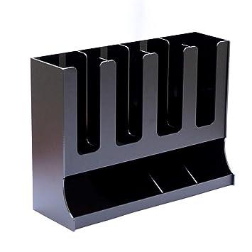 Organizador De Portavasos Organizador De Vasos Desechables 6 Compartimentos Condensador De Café Vertical Y Almacenamiento De Tazas Organice Una Barra ...