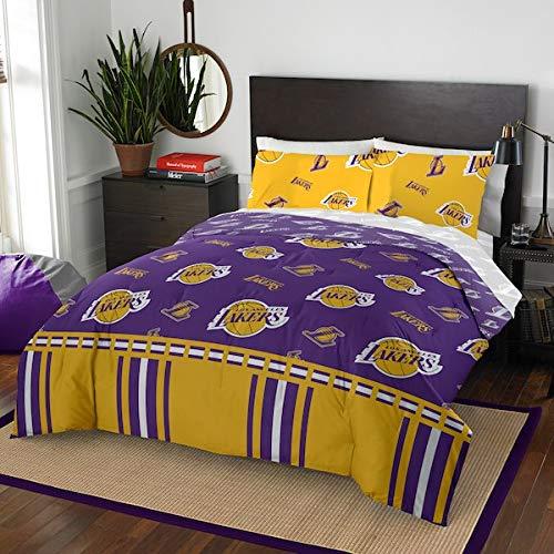 Official LosAngelesLakers Full Bed in Bag Set