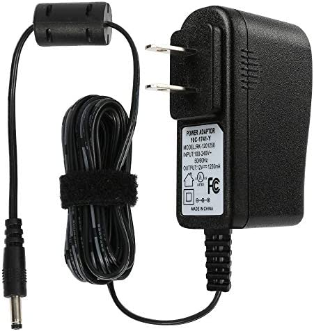 LotFancy Power Adapter for Echo Dot 3rd and 4th Gen, Dot with Clock, Echo Show 5, Fire TV Cube, Alexa Spot - Power Supply Charger for Amazon Wireless Speaker, UL Listed, 6Ft Power Cord Replacement