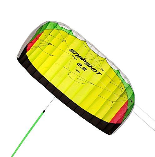 Prism Snapshot Dual-line Parafoil Kite, 2.5 by Prism Kite Technology