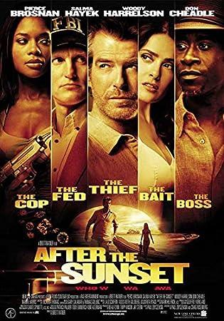 Amazon.com: Después de la puesta del sol Cartel de película ...