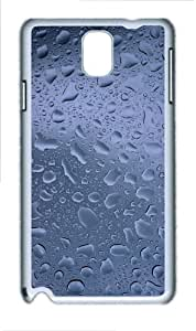 Raindrops Custom Samsung Galaxy Note 3/ Note III / N9000 - Polycarbonate - White