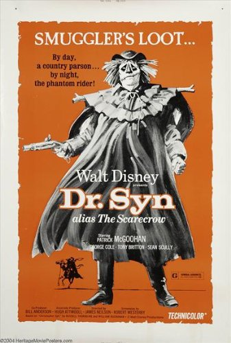 The Scarecrow of Romney Marsh Poster Movie 27x40 (Dr Syn The Scarecrow Of Romney Marsh)