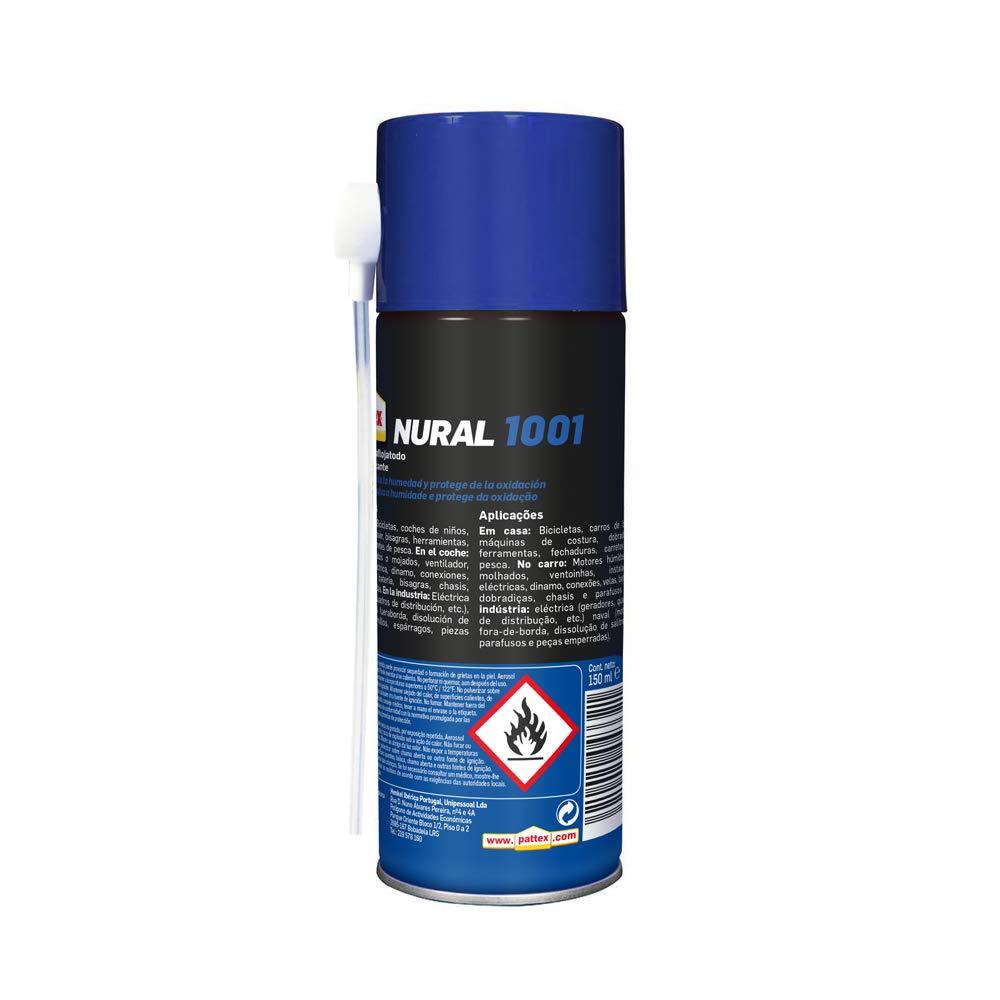 Pattex Nural 1001 Lubricante aflojatodo, aceite lubricante que ...