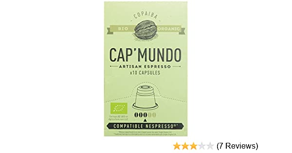 Amazon.com: Cap Mundo Single-Cup Coffee for Nespresso Brewers, Copaiba, 10 Count: Prime Pantry