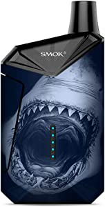 Skin Decal Vinyl Wrap for Smok X-Force AIO Kit | Vape Stickers Skins Cover| Shark Attack