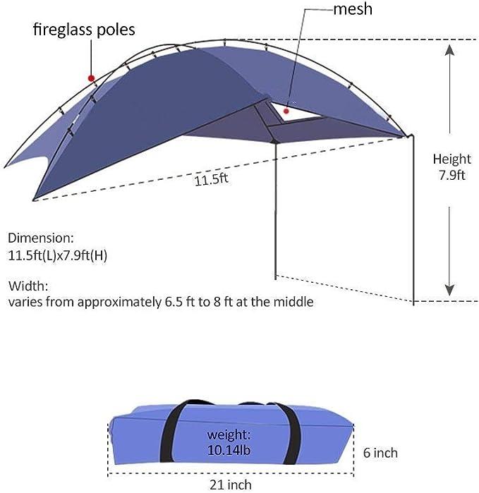 pour Camping et Famille Camping d/ét/é HUKOER Compte Voiture Camping en Plein air Camping Famille Voiture Compte Voiture Compte lat/éral Voiture chapiteau hayon pour la Voiture