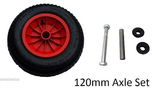 LY Tools - Rueda de Repuesto para Bicicleta (35,56 cm), 120MM AXLE ...