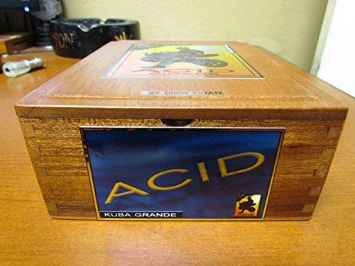 - PREMIUM Wooden Empty Cigar Box - ACID BOX