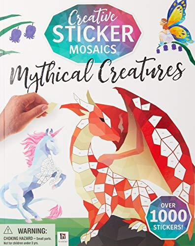 Creative Sticker Mosaics: Mythical Creatures (Sticker Mosaics)
