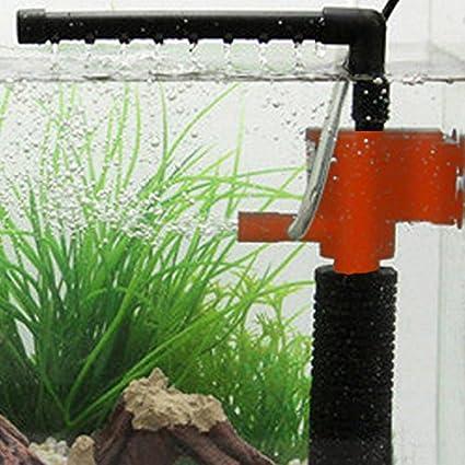 Hrph Mini 3 en 1 Multi-función de Acuario Purificador de Agua del Tanque de