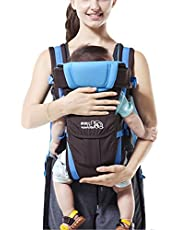 GudeHome Babybärare 4 positioner ryggsäck, framsida, känguru och sele lätt spädbarn bärare
