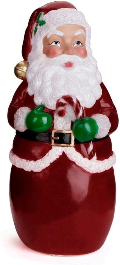 Christmas Santa Claus Yard Ornaments, Xmas Lighted Yard Party Decoration LED Light Effect Santa Statues, Santa Figures, Outdoor Santa Figurines, Holiday Home Collectibles, Xmas Gifts
