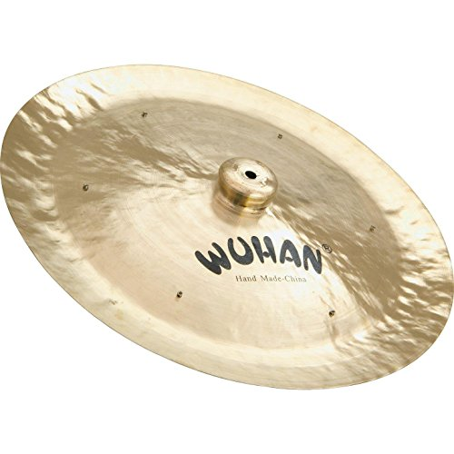 WUHAN WU104-18R China Cymbal 18-Inch  with Rivets (Gong Wuhan China)