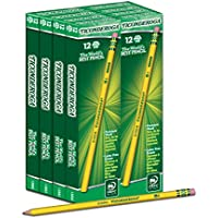 Deals on Dixon Ticonderoga Wood-Cased Pencils, #2 HB, Box of 96 (13872)