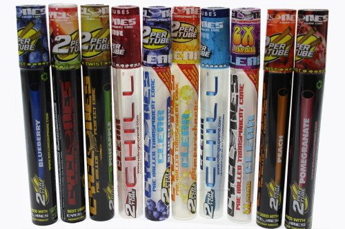 Cyclone Pack (CYCLONES CLEAR AND REGULAR PRE ROLLED CONES MULTIPACK ASSORTED FLAVOR PACK OF 10)
