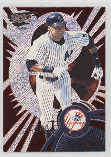 Derek Jeter #/299 (Baseball Card) 1999 Pacific Revolution - [Base] - Red Non-Numbered #95 ()