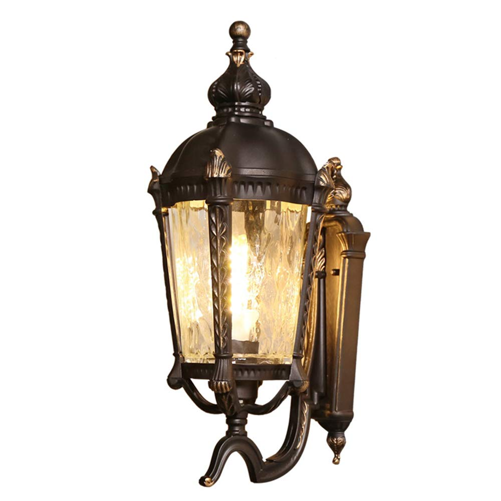 LEDウォールランプ、室内装飾の照明、IP65防水、ガーデンランプ、ヴィラのバルコニー廊下に適しています、110-240V、49 * 20Cm、9W暖かい光 B07SM6VQF5