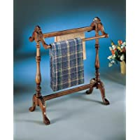 Blanket Stand (Brown) (36.25'H x 31.00'W x 15.75'D)