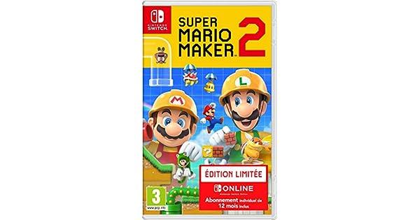 Super Mario Maker 2 - édition limitée [Importación francesa ...