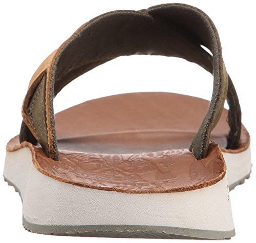 Sandalo Duskair Merrell Stucco pelle in scorrevole C5nnABRqw