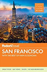 Written by locals, Fodor's travel guides have been offering expert advice for all tastes and budgets for over 80 years.       With its incredible natural beauty, vibrant neighborhoods, and endless energy, San Francisco is one of the mo...