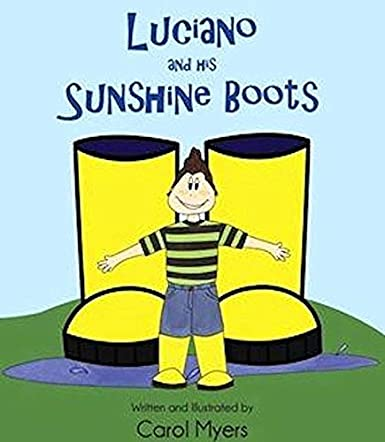 Luciano and His Sunshine Boots