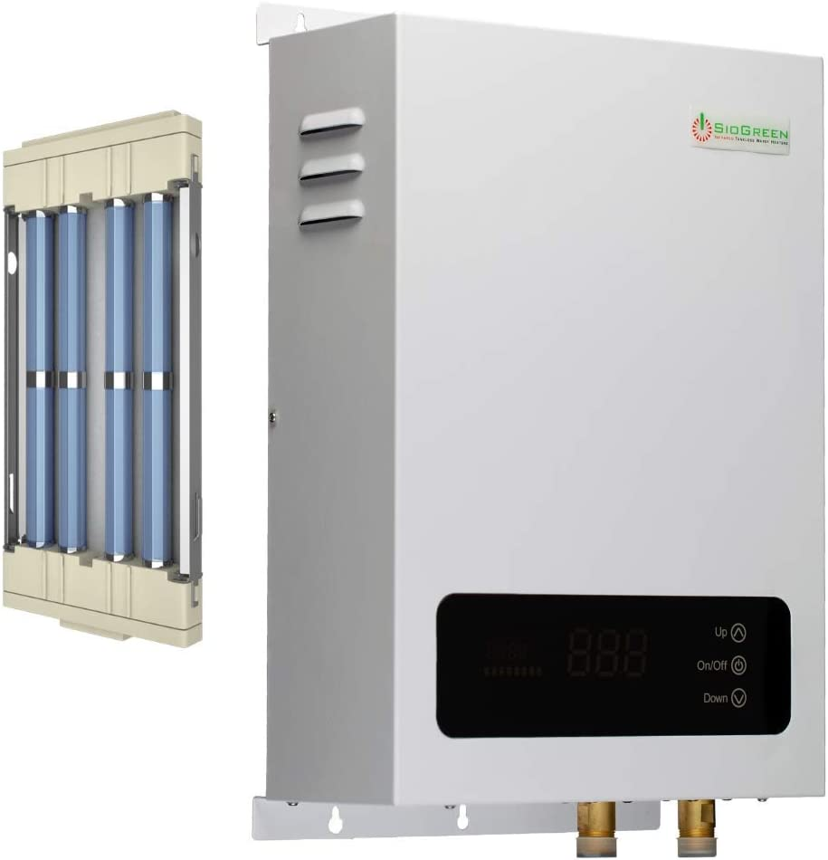 sio green sio18-220v/80a/18kw -infrared electric tankless water heater -  instant hot water heater - corrosion free - free maintenance - - amazon.com  amazon.com