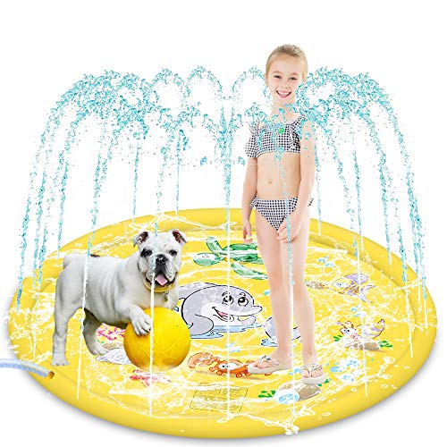 HeiYi Sprinkler for Kids Dogs, 68