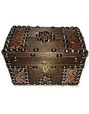 صندوق مجوهرات خشب مقاس وسط