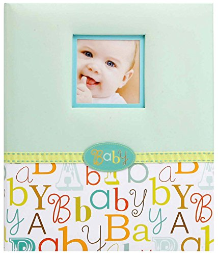 C.R. Gibson First 5 Years Loose Leaf Memory Book, Record Memories and Milestones on 64 Beautifully Illustrated Pages - Baby Love