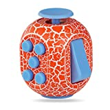 Fidget Toy Cube Toy with Click Ball - Relieve Stress and Anxiety Fidget Toys,Randomcolor2pc