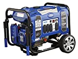 Ford 11050 watt gasoline portable generator with electric start