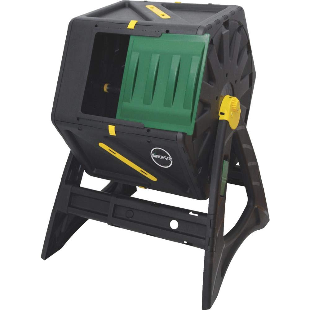 Miracle-Gro Single Chamber Tumbling Composter, 105 L/27.7 gallon