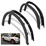 bmw rims x5 - ModifyStreet Front/Rear Matte Black Grained Finish Arch Extension Fender Flares/Diffuser Body Kit Protectors for 07-13 BMW E70 X5 w/ 21