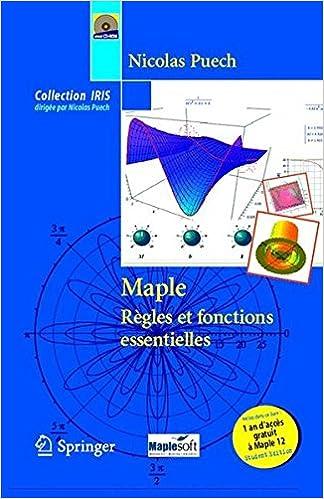 MAPLE CALCUL FORMEL GRATUIT