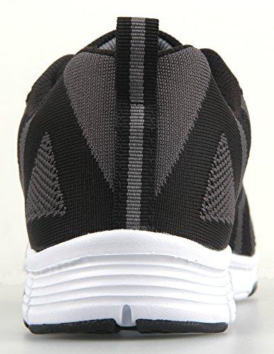 Baskets Running Ilovesia Lger La De Pour Gris Noir Course Poids Pied RFqxdpwq