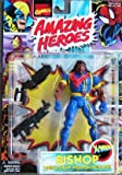 Bishop X-men Action Figure with Quick-draw Weapon Release - 1997 Marvel Comics Amazing Heroes Series
