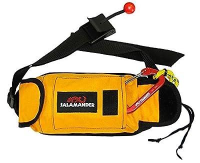 Salamander Retriever Kayak Rescue Throw Rope Bag & Tow Tether