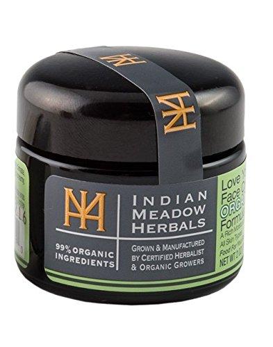 Meadow Cream - Indian Meadow Herbals, Face Cream Love Your Organic, 1.69 Fl Oz