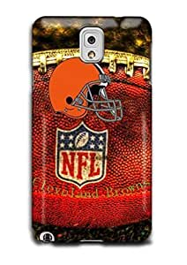 Tomhousomick Custom Design The NFL Team Cleveland Browns Case Cover For Samsung Galaxy Note3 N9000 Personality Phone Cases Covers
