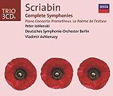 Scriabin: Complete Symphonies / Piano Concerto, etc. (3 CDs)