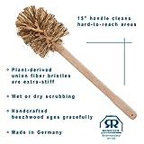 REDECKER Union Fiber Toilet Brush with Untreated