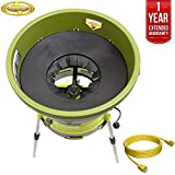 Sun Joe SDJ616 Shredder Joe 13-Amp Electric Leaf Mulcher/Shredder All You Need Bundle with 25 Foot Outdoor Extension Cord and One Year Warranty Extension