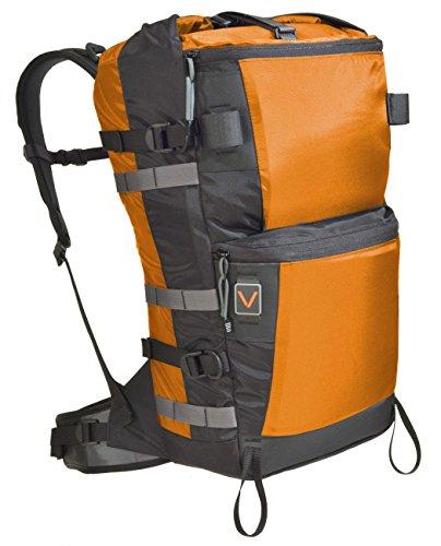 VenTerra Men's Bivy 35 Hiking Backpack, Orange, Medium