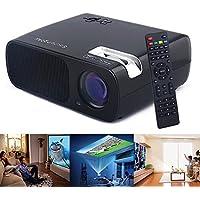 Sourcingbay PRJ-BL20-B HD LED Projector Cinema Theater USB/HDMI/TV/AV/YPBPR/VGA/Audio Input ,2600 Lumens,2000:1 (Black)
