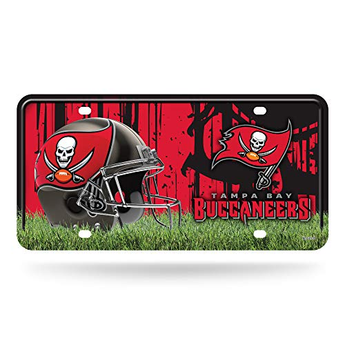 NFL Tampa Bay Buccaneers Metal License Plate Tag]()